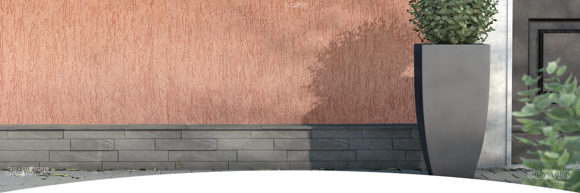 Фасадные штукатурки короед - каталог эффектов