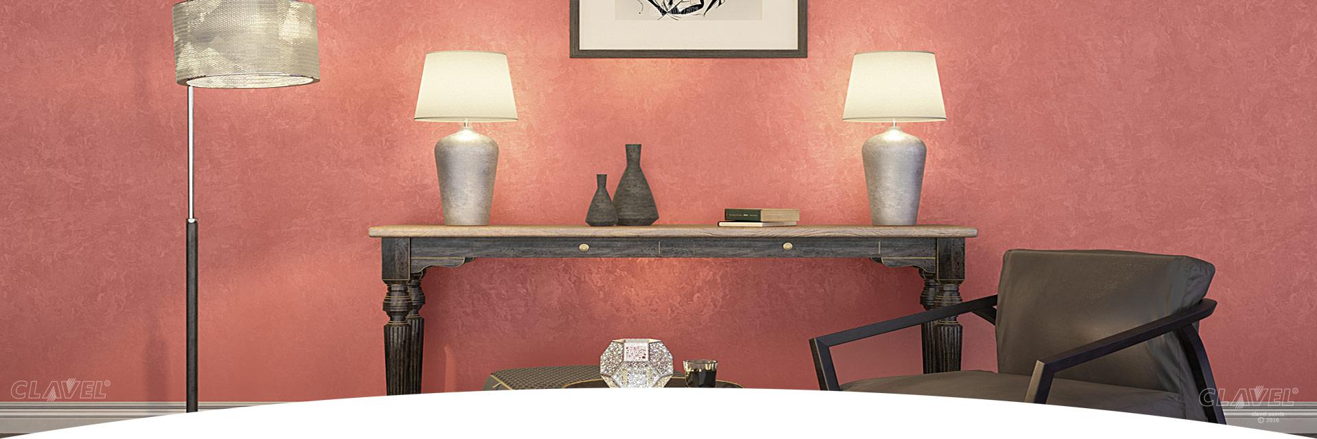 Декоративные краски для интерьеров - каталог эффектов