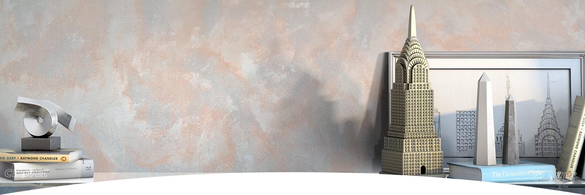 Декоративные краски с эффектом металла- каталог эффектов